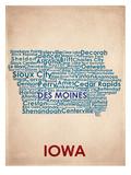 Iowa Reproduction d'art