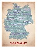 Allemagne Reproduction d'art