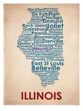 Illinois Reproduction d'art
