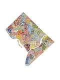 Washington DC (color) Reproduction d'art
