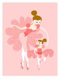Ballerina Mother Daughter