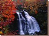 Brandywine Falls in the Cuyahoga National Recreation Area  Ohio