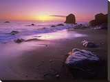 Enderts Beach at sunset  Redwood National Park  California