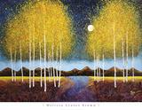 Full Moon Panorama Reproduction d'art par Melissa Graves-Brown