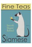 Siamese Fine Teas Reproduction pour collectionneurs par Ken Bailey