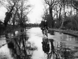 Flooded Country Lane