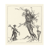 Tree Talks to Scarecrow