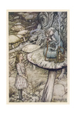 Alice and the Caterpillar