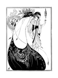 The Peacock Skirt Giclée par Aubrey Beardsley