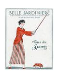 Lady Golfer 1914