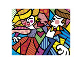 Swing Reproduction d'art par Romero Britto