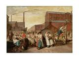 The Dinner Hour  Wigan  1874