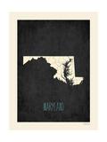 Black Map Maryland