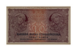 10 Crown Banknote of the Republic of Czechoslovakia  1920