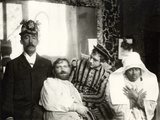 Mucha with His Friends in the Studio  Rue De La Grande Chaumière  Paris