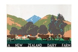 A New Zealand Dairy Farm  from the Series 'Buy New Zealand Produce'