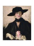 Lady in a Black Hat