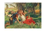 The Hireling Shepherd  1851