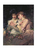A Thorn Amidst Roses  C1887
