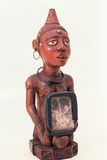 Kongo Kneeling Nkisi Figure  Lower Congo  Central Africa  Pre 1889