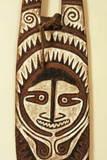 Carved Ancestor Board  Papua New Guinea  Mid 20th Century