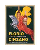 Florio e Cinzano 1930 Giclée par Leonetto Cappiello