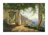 View to the Amalfi Coast