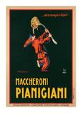 Maccheroni Pianigiani,1922 Giclée par Achille Luciano Mauzan