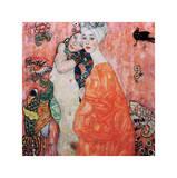 Le Amiche Giclée par Gustav Klimt