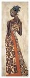 Femme Africaine II Giclée par Jacques Leconte