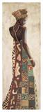 Femme Africaine III Giclée par Jacques Leconte