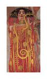 Hygieia (detail from Medicine) Giclée par Gustav Klimt