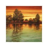 River Sunset I