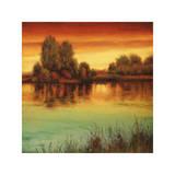 River Sunset II