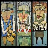 Trio de Jazz Giclée par Tim Nyberg