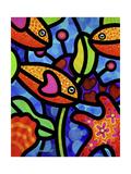 Kaleidoscope Reef Giclée par Steven Scott
