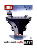 Join the Navy  Modern Mobile Mighty