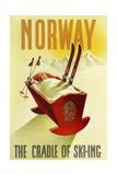 Norway Cradle Skiing