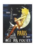 Paris Moon Giclée
