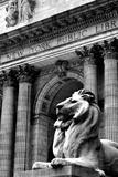 NY Public Library III Reproduction d'art par Jeff Pica