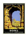 Rome Express Rome  Par le Train de Luxe