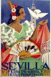 Sevilla 1922 Giclée