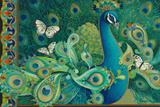 Paisley Peacock Giclée par David Galchutt