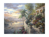Tranquil Sea Giclée par Nicky Boehme