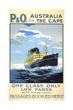 P and O Australia Via the Cape