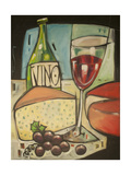 Wine and Cheese Please Giclée par Tim Nyberg