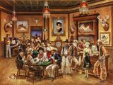 Western Saloon Giclée par Lee Dubin