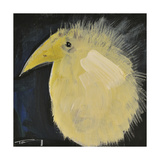 Yellow Fuzzy Bird