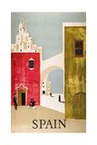 Vintage Travel to Spain Giclée