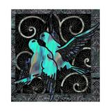 Aqua Lovebirds
